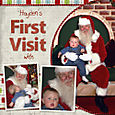 First Visit with Santa - Page 1